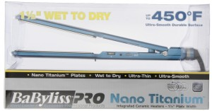 BaBylissPro BABNT5073T Nano Wet-To-Dry Straightening Iron