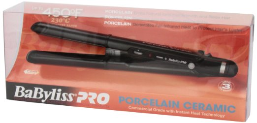 ->Click Here To See Today's Discount On BaByliss Pro - Porcelain Plate Ceramic Flat Iron - 1 Inch - Model
