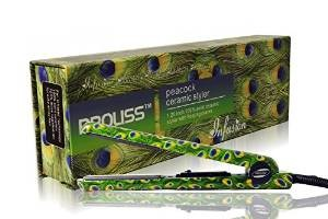 Proliss Infusion Peacock Ceramic Styler 1.12 Inch 100% Solid Ceramic